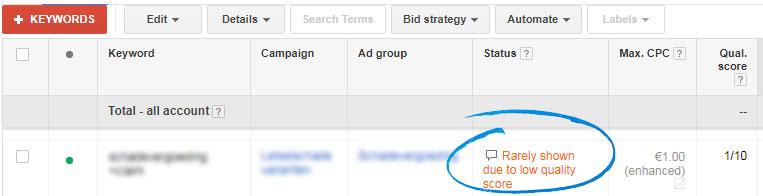 Google-AdWords-toont-mijn-advertentie-niet-door-te-lage-kw-score